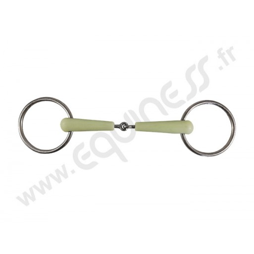 Flexi jointed snaffle