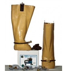 Water boots avec compresseur