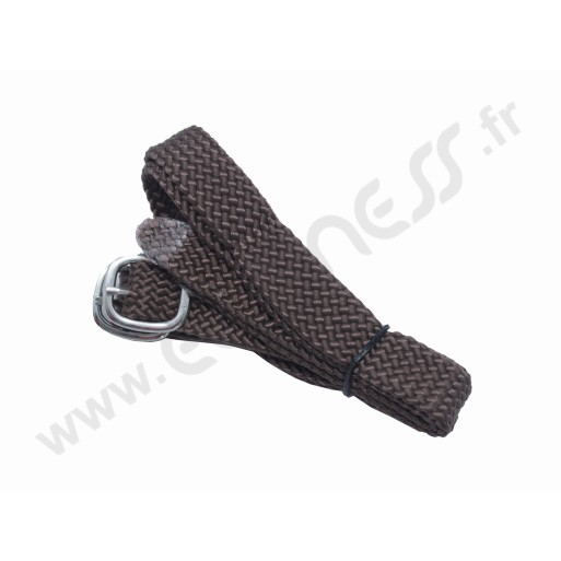 Nylon spurs straps brown